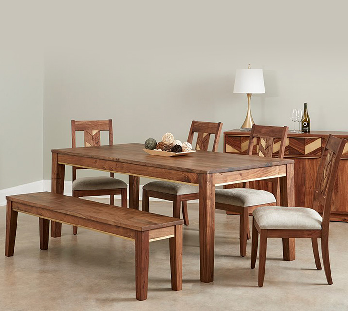 IPAT 파트로니아 컬렉션 6인 엔틱 식탁 세트 [테이블+의자 6개] / 월 125,800원