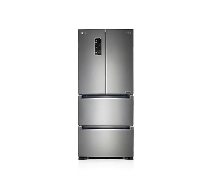 [L] LG 전자 디오스 김치톡톡 4도어 김치냉장고 실버 402L K410S19E  / 월52,800원